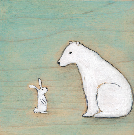 The arctic hare & the polar bear