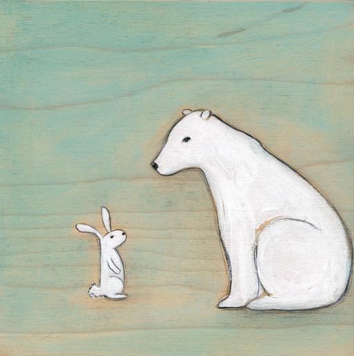 The arctic hare & the polar bear