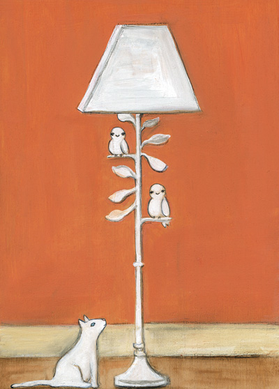 Owl friendly lamp