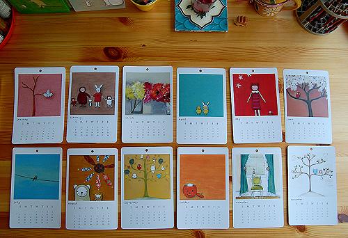 Calendar all months