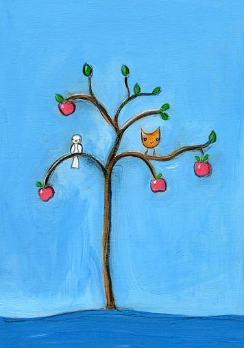 friends in an apple tree.jpg