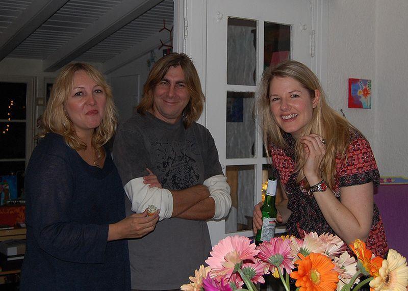 Nancy, steve & I