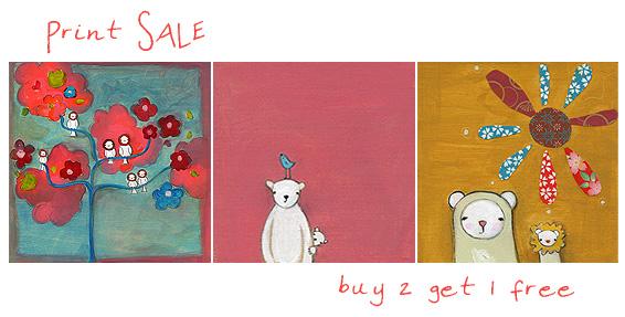 Print sale