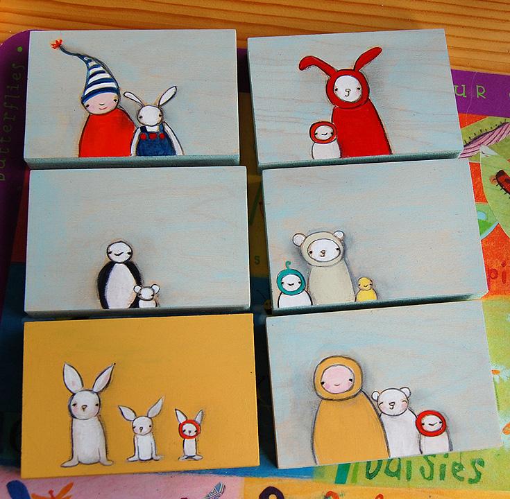 June tiny portraits
