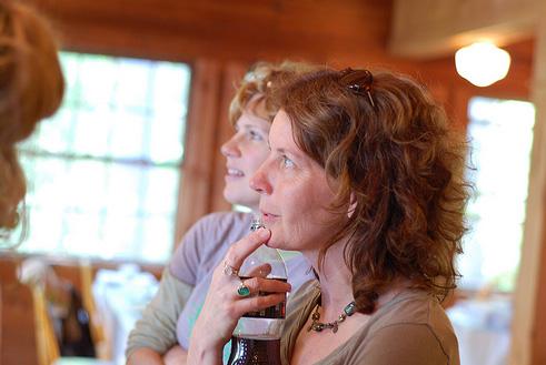 Kristin & terri