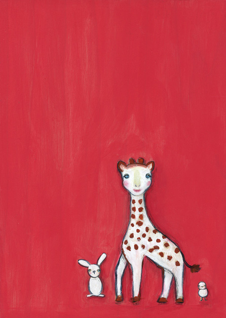 Sophie the giraffe & friends