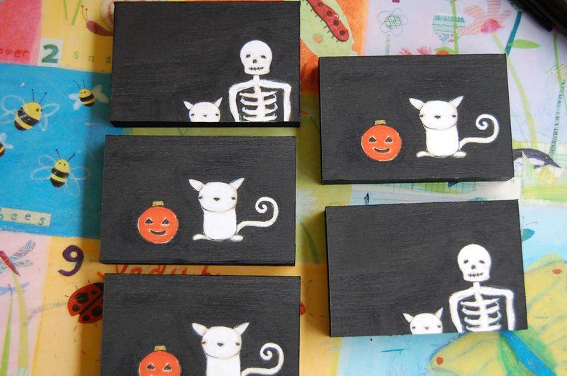 Spooky panels
