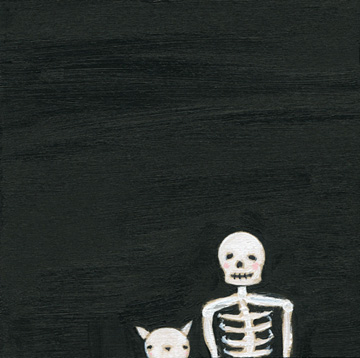 Clementine & the skeleton
