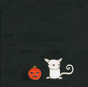 Clementine & the pumpkin