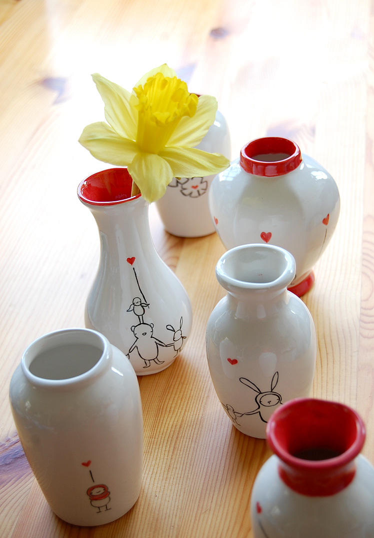 Vases all together