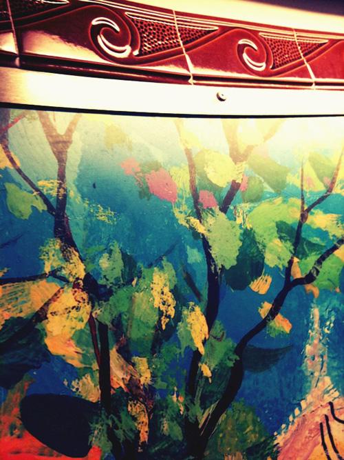 Metro painting