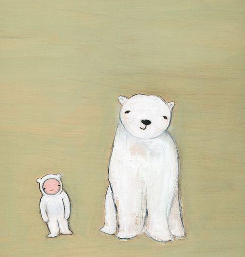 When i grow up i want to be a polar bear