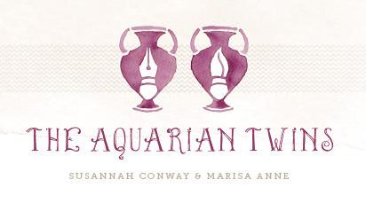 Aquarian twins logo