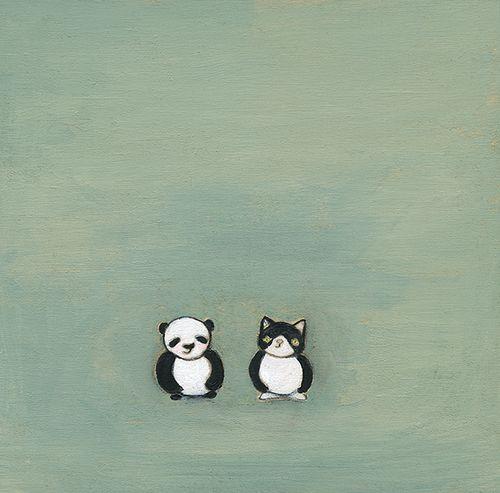 Panda meets garbo