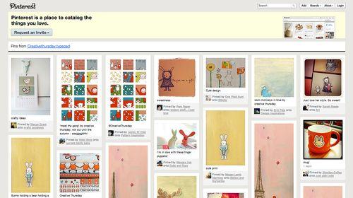 Pinterest creative thursday