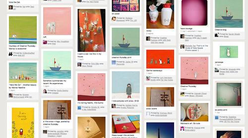 Pinterest creative thursday 2
