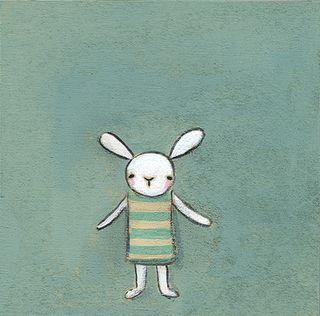 Stripey bunny