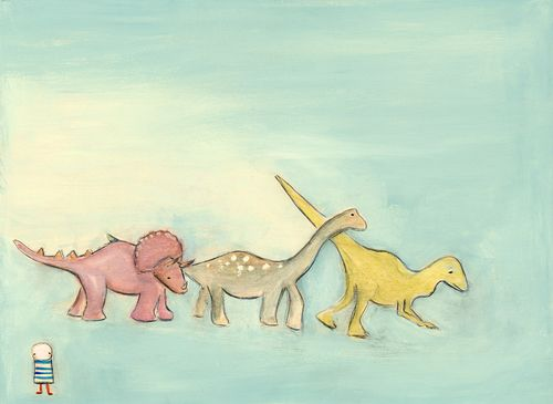 In the land of the dinosaurs