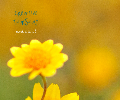 Creative thursday podcast graphic