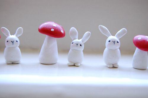 Bunny mushroom