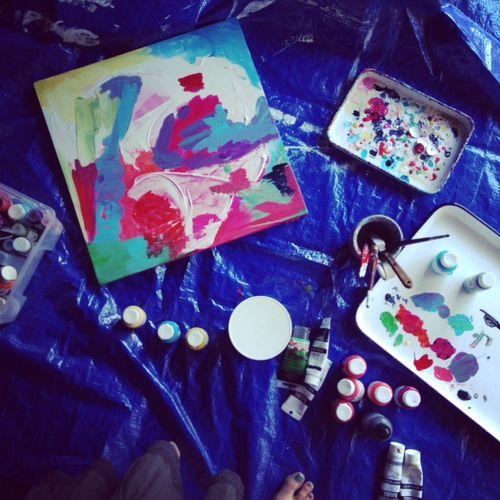 Painting big