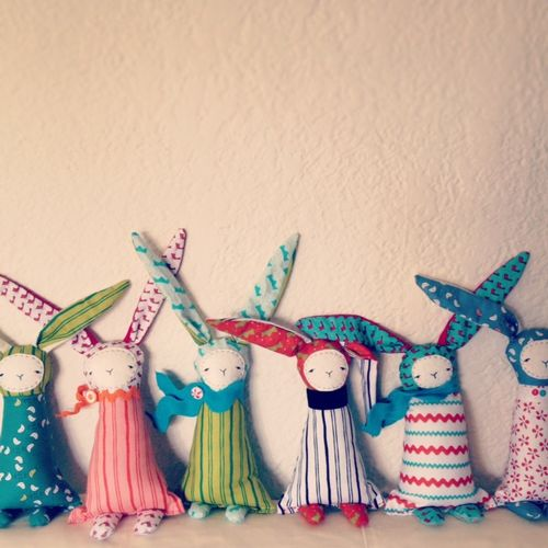 Bunnies in a row ct