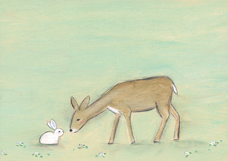 Bunny and the deersite