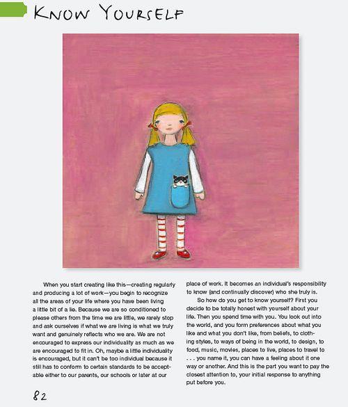 Know yourself pg. 82 creative thursday