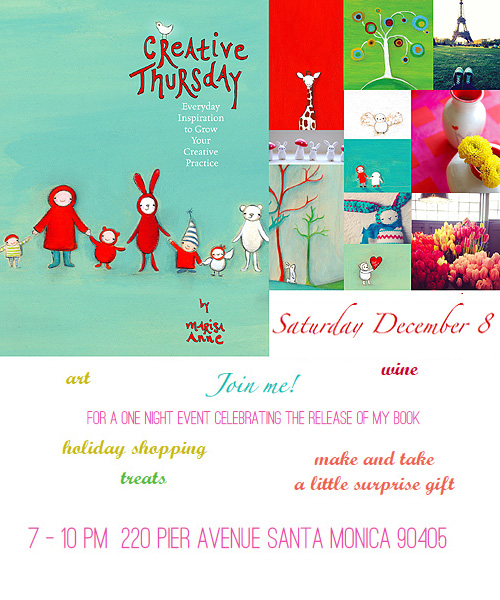Creative thursday december 8 invitation blog