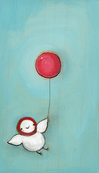 Little red balloon olive