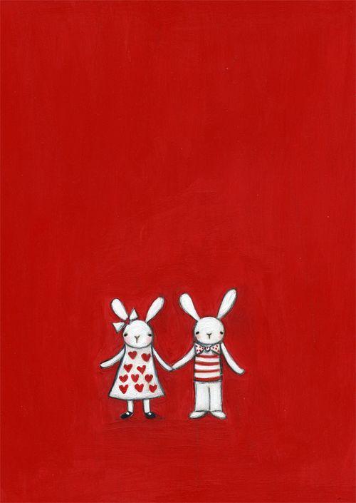 Bunny my valentine