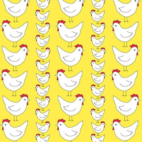 Prosperity hens yellow blog