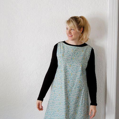 Marisa anne fabric portrait 2013