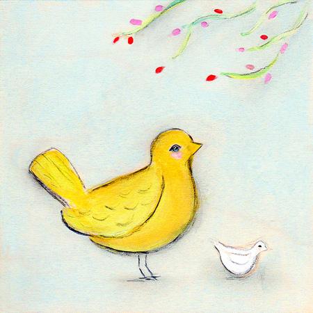 Yellow birdsite