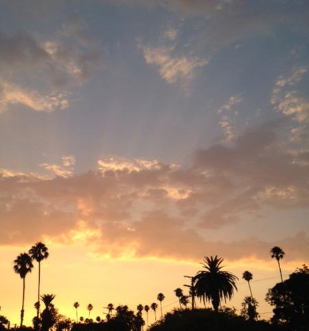 Sunset 8:13