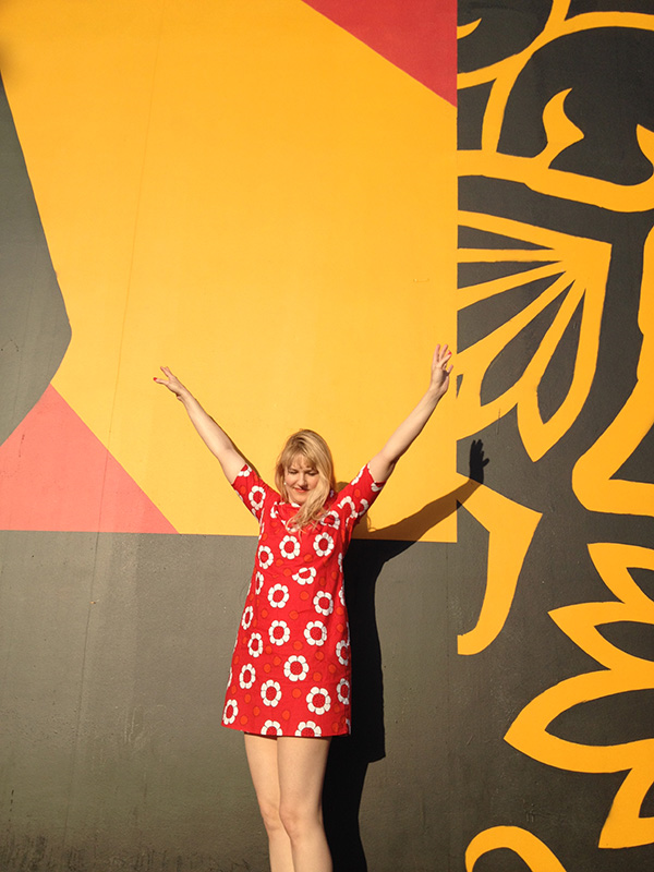 Marisa shepard fairey wall