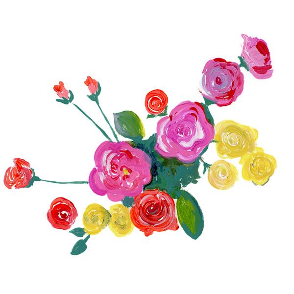 Tiny roses no.2