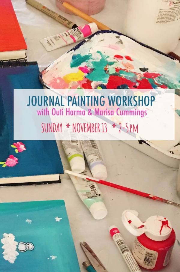 Journal painting workshop graphic 2